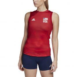 adidas USA Volleyball Primeblue Jersey - Women's Volleyball