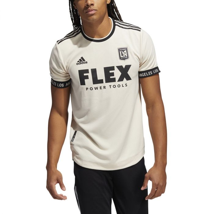adidas 21-22 Los Angeles FC Away Jersey Authentic - Mens Soccer
