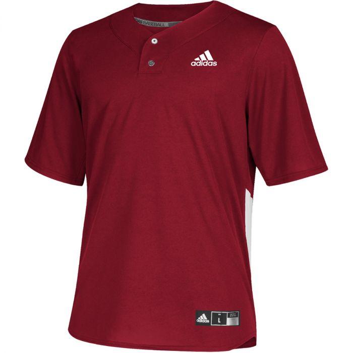 adidas Diamond King Elite 2 Button Jersey - Youth Baseball