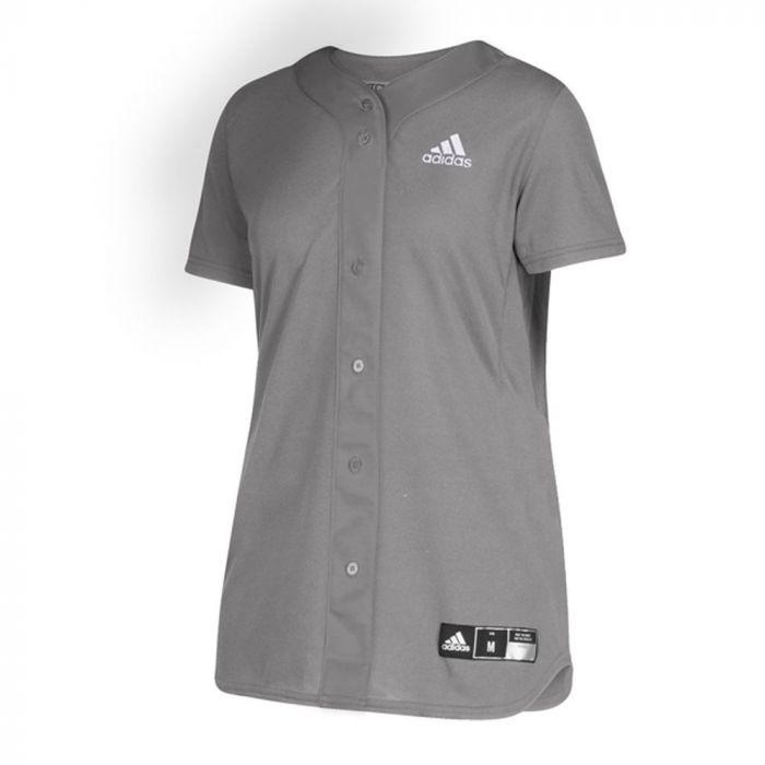 adidas Diamond Queen Elite Full Button Jersey - Women's Softball