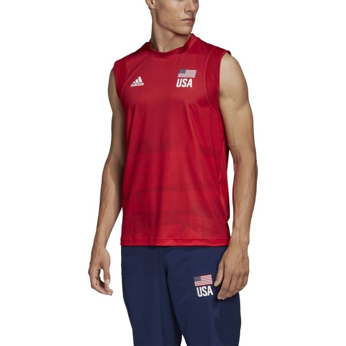 adidas USA Volleyball Primeblue Jersey - Men's Volleyball